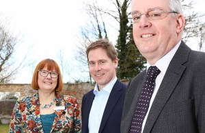 Philippa Jones (Bromford), Robert Nettleton (Merlin) and Tom Knight (Severn Vale)