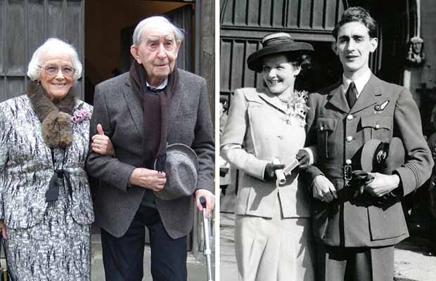 Then and now - Audrey and Nat Williams