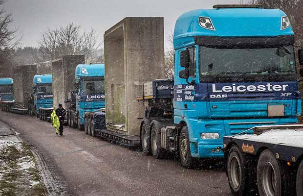 lhcrt concrete tunnel move darnford lane MB