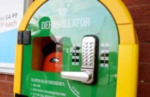 One of the defibrillators