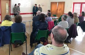 Lichfield Explorers pitch at microfunding event, Lichfield Soup