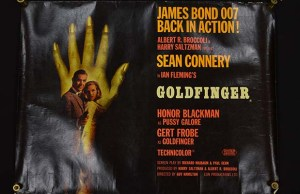 The Goldfinger poster