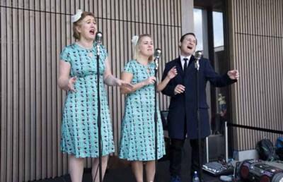Singers at the National Memorial Arboretum