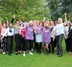 The launch of the partnership between BB Training Academy and the Step Together charity