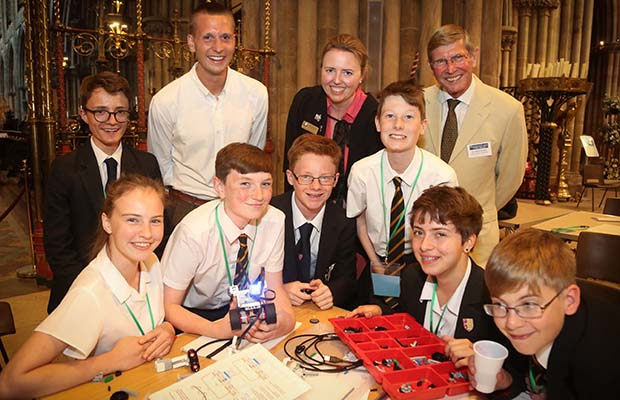 The science and engineering event at Lichfield Cathedral