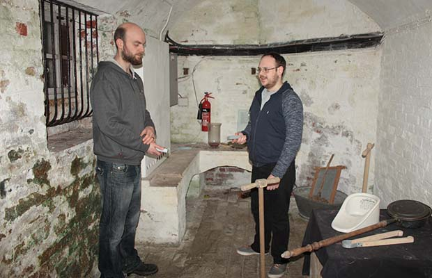 The previous Paranormal Friends visit to Erasmus Darwin House