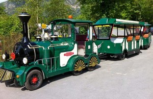 The land train that will run as part of the Lichfield Festival