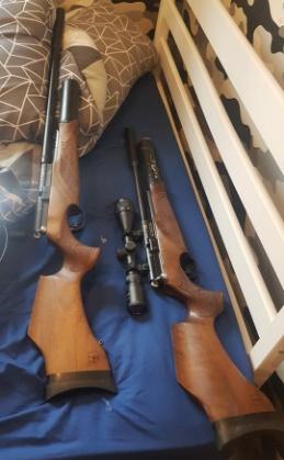 The air rifles found in Lichfield