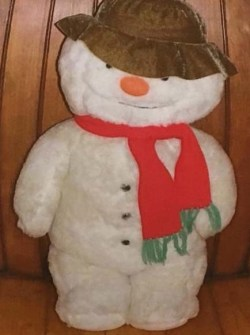 A similar snowman - although Bundle does not have the red scarf