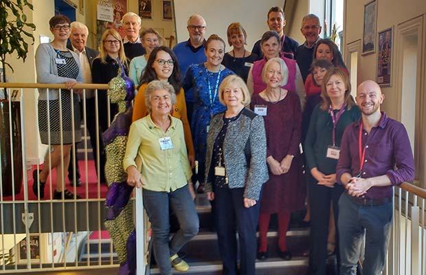 Members of the Dementia Friendly Lichfield group