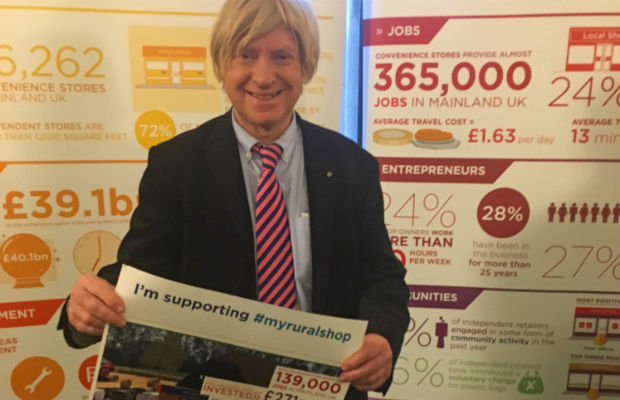 Michael Fabricant at the launch of the Rural Shop Report