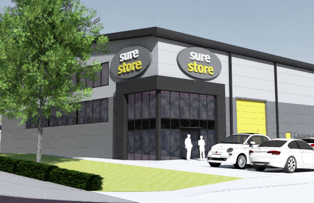 An artist's impression of the new SureStore facility on Eastern Avenue