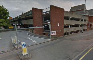 The Birmingham Road car park. Pic: Google Streetview