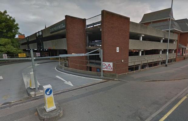The Birmingham Road multi-storey car park. Pic: Google Streetview