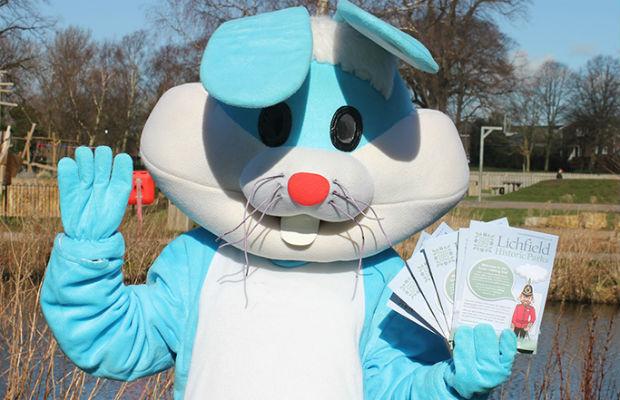 Beacon Park's Easter bunny