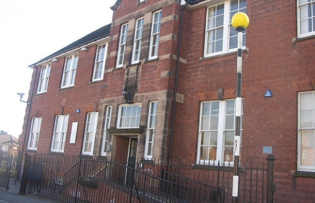 The Old Mining College Centre in Burntwood, home of Burntwood Town Council