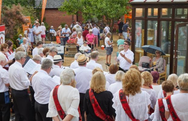 The St Giles Hospice summer fair