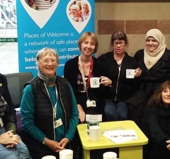 A Places of Welcome session at Lichfield Library
