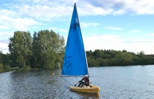 A sea cadets sailing session