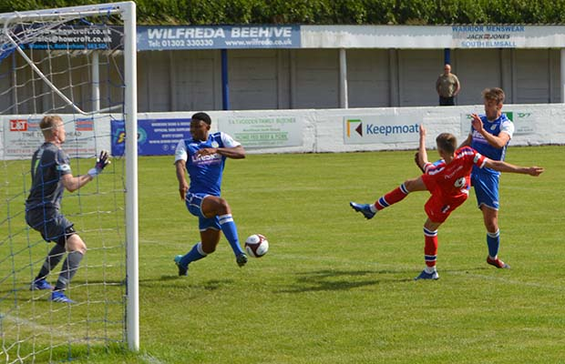 Chasetown FC banish history of first day blues with victory at Frickley Athletic