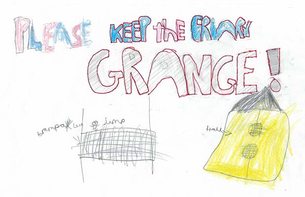 One of the posters submitted as part of the Save Friary Grange Leisure Centre campaign