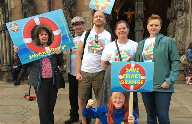 Friary Grange Leisure Centre campaigners