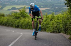 Toby Barnes riding in the Tour of Sussex