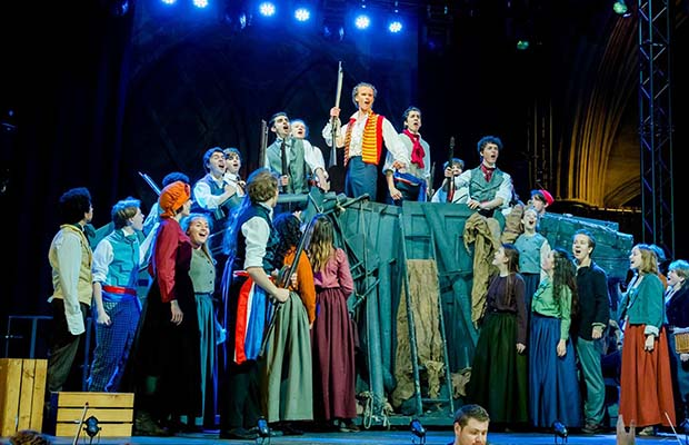 Lichfield Musical Youth Theatre's production of Les Miserables