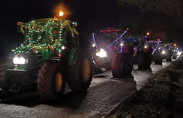 The Christmas Tractor Run