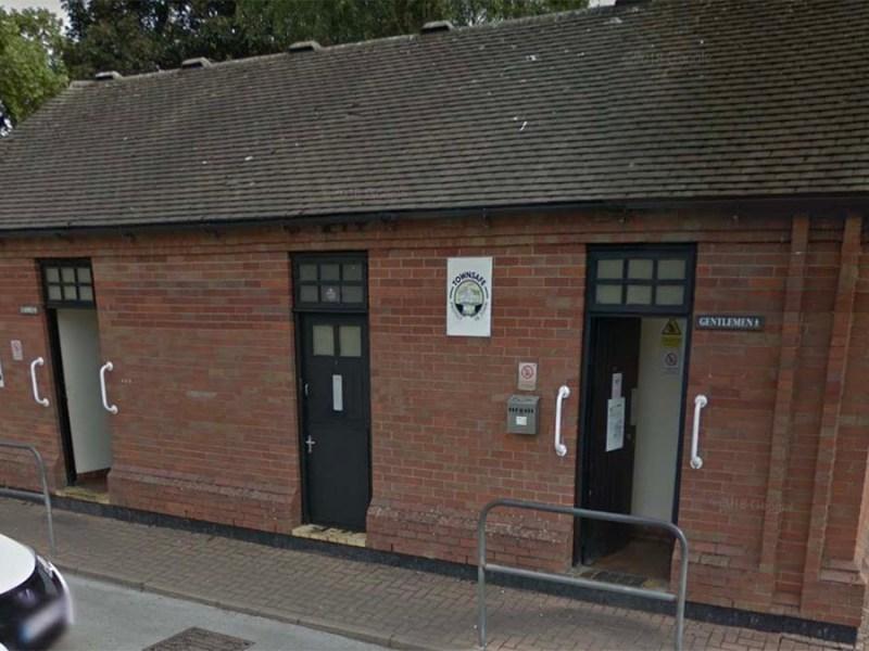 The public toilets on Bird Street car park