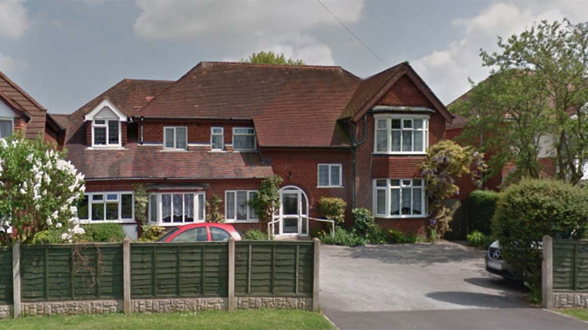 The former Southwinds Nursing Home in Burntwood. Picture: Google Streetview
