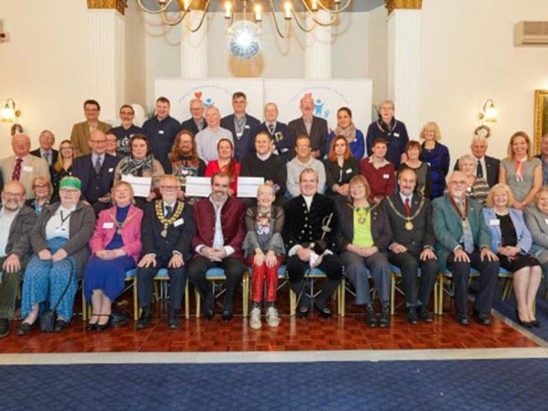 Representatives at the We Love Lichfield Fund event