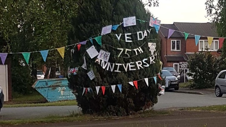 VE Day anniversary being marked in Boley Park