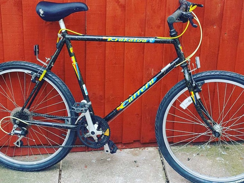 One of the bikes restored by Lichfield Re:Cycle