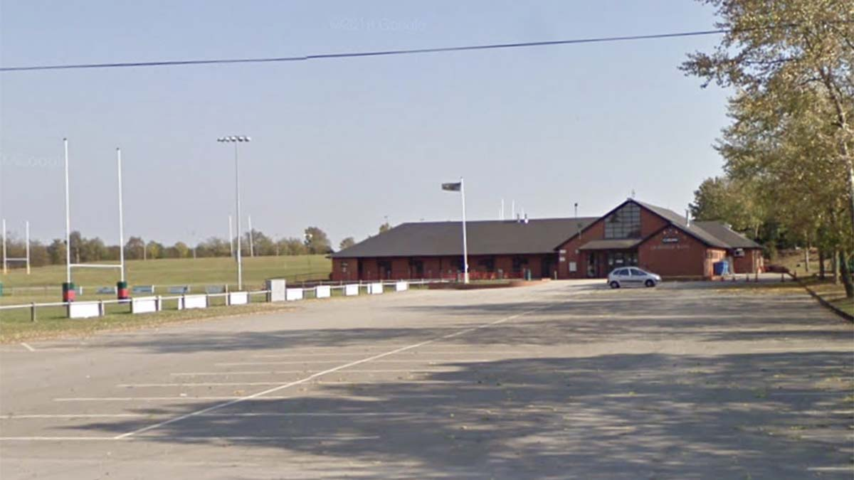 Cooke Fields, home of Lichfield RUFC. Pic: Google Streetview