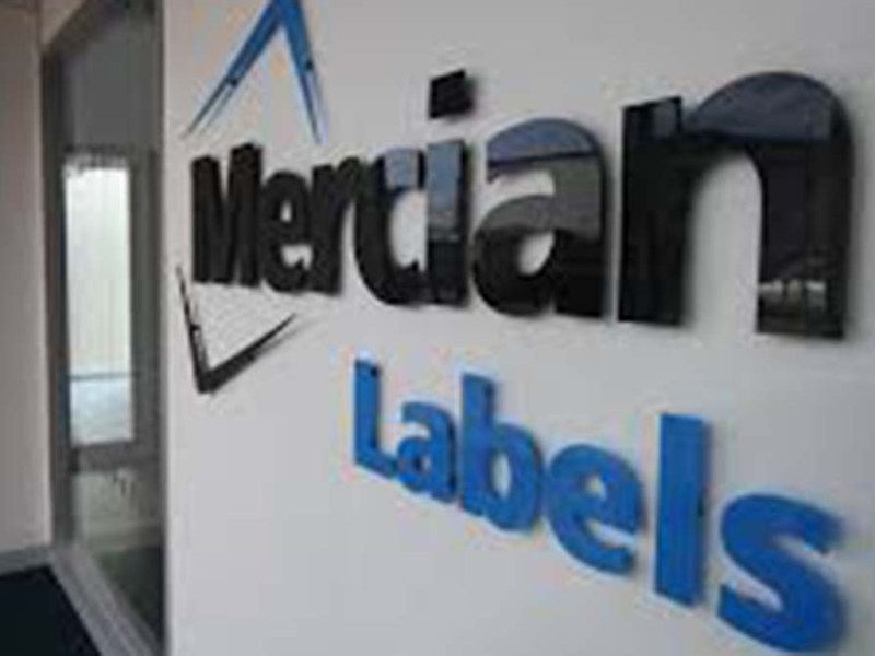 Mercian Labels sign
