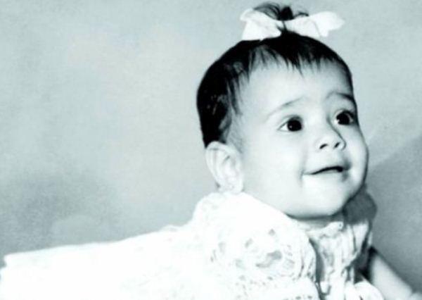 Сальма Хайекв детстве