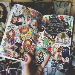 08.Личный дневник фото: красивое оформление лд