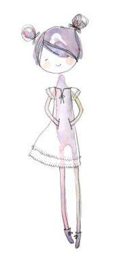 17.Рисунки для срисовки легкие для девочек