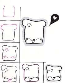 07.Рисунки для срисовки: твой личный дневник