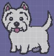 21.Как нарисовать собаку по клеточкам