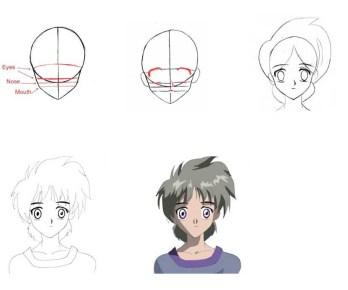 02.картинки аниме для срисовки поэтапно