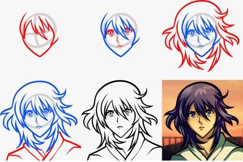 08.картинки аниме для срисовки поэтапно