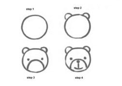 06.лёгкие рисунки для срисовки карандашом для начинающих