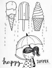 13.срисовки для девочек лёгкие