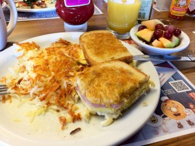 So viele Vitamine zum Frühstück bin ich nicht mehr gewohnt ;-)