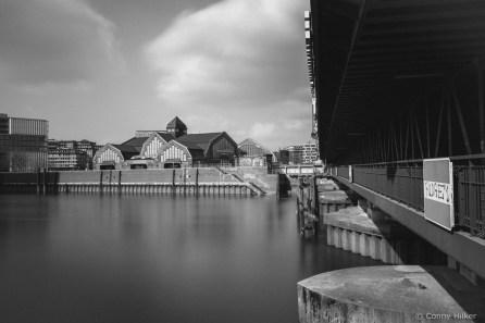 Deichtorhallen Hamburg. Langzeitbelichtung mit 2 Graufiltern, 151 Sekunden belichtet