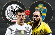 Tỷ lệ cược, kèo Đức vs Thụy Điển 1h ngày 24/6 World Cup 2018