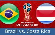 Nhận định Brazil vs Costa Rica 19h00 ngày 22/06