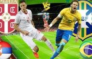 Tỷ số cá cược Serbia vs Brazil 1h00 ngày 28/06